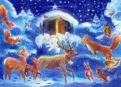 Advent Calendar Christmas with the Animals