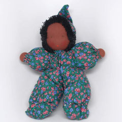 Waldorf Poppet Doll, Green Clothing