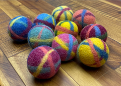 Felt balls - small, medium, or large