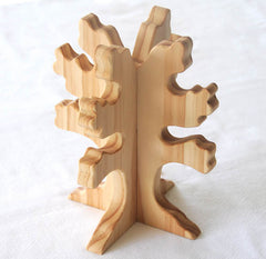 Handmade Wooden Tree, Waldorf Inspired