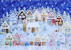 """Christmas in the Elves Village""  Advent Calendar"