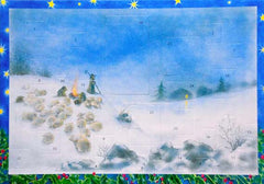 """Christmas with the Shepherd"" Card-Sized Advent Calendar"
