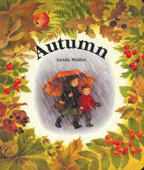 Autumn, Winter, Spring and Summer books by Gerda Muller - four book set