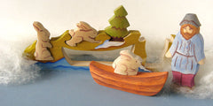 Fisherman, Boat and Rabbit Puzzle