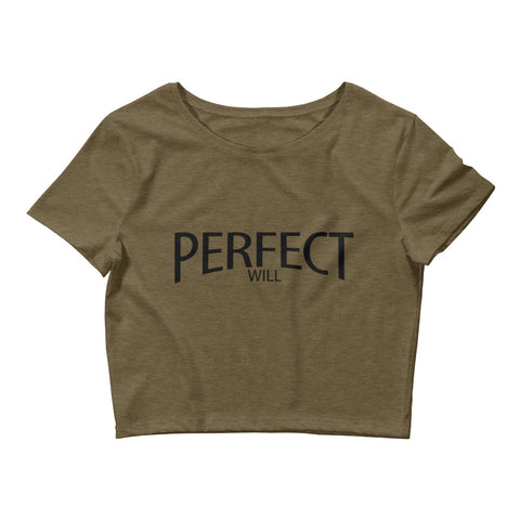 Women's Perfect Will Crop Tee
