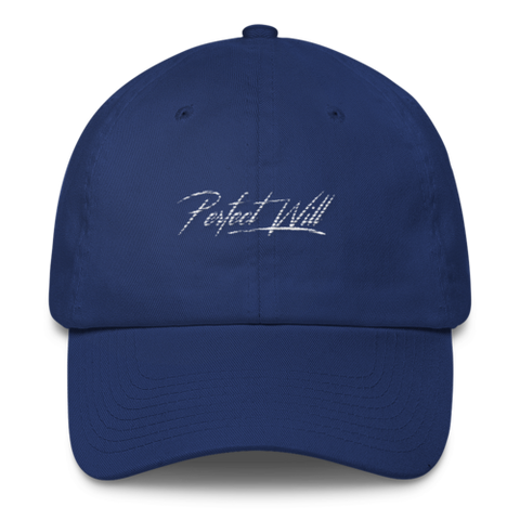 Blue Signature Hat