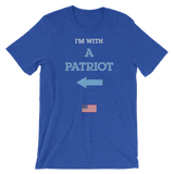 I'm With a Patriot - Left   Arrow