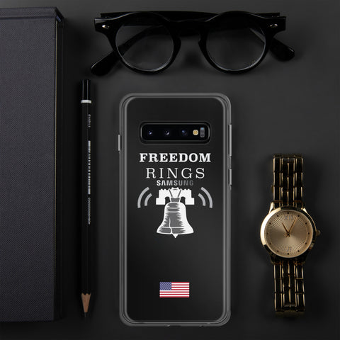 Freedom Rings - Clear - Galaxy S10/+/e