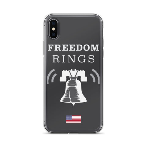 Freedom Rings - Black - iPhone