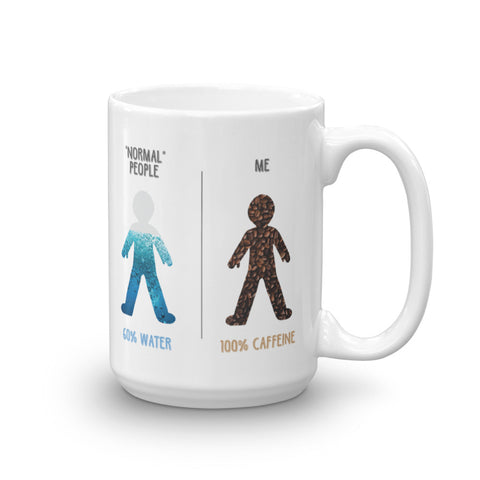 100% Caffeine - Coffee Mug
