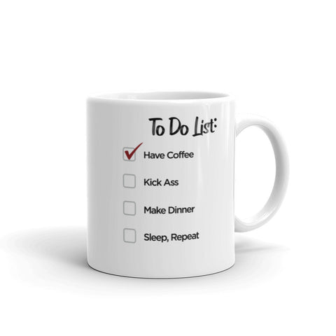 To do list - Coffee Mug