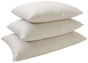 Kapok Sleep Pillows with 100% Organic Cotton Fabric