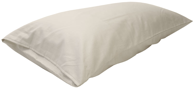 Cotton Sateen Pillow Cover King Natural