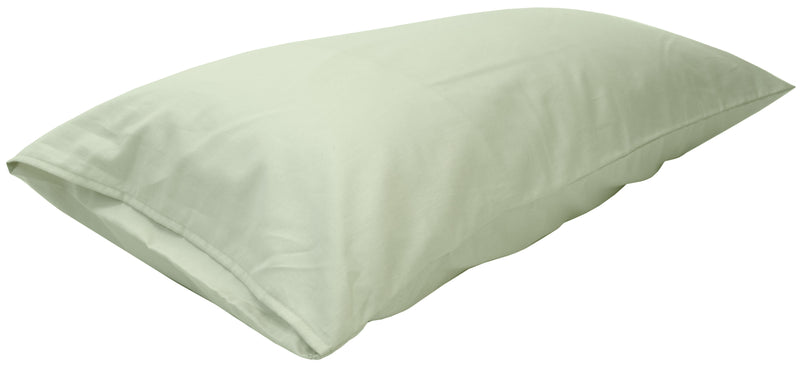 Cotton Sateen Pillow Cover King Sage