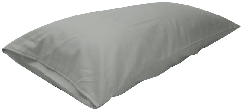 Cotton Sateen Pillow Cover King Gray