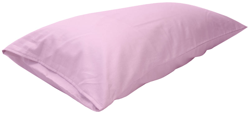 Cotton Sateen Pillow Cover King Pink