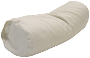 Cotton Sateen Pillow Cover Neck Roll Natural