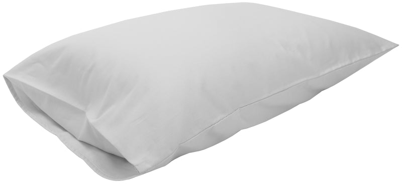 Cotton Sateen Pillow Cover Standard White