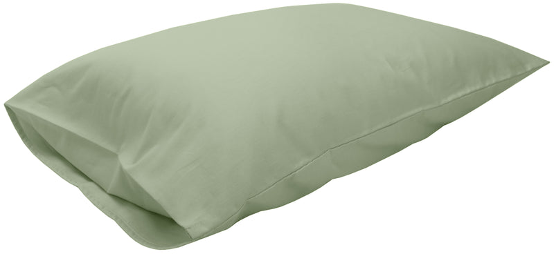 Cotton Sateen Pillow Cover Queen Sage