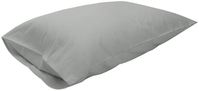Cotton Sateen Pillow Cover Queen Gray