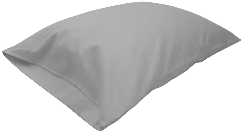 Cotton Sateen Pillow Cover Standard Gray