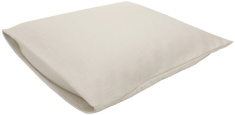 Cotton Sateen Pillow Cover Toddler/Travel Natural
