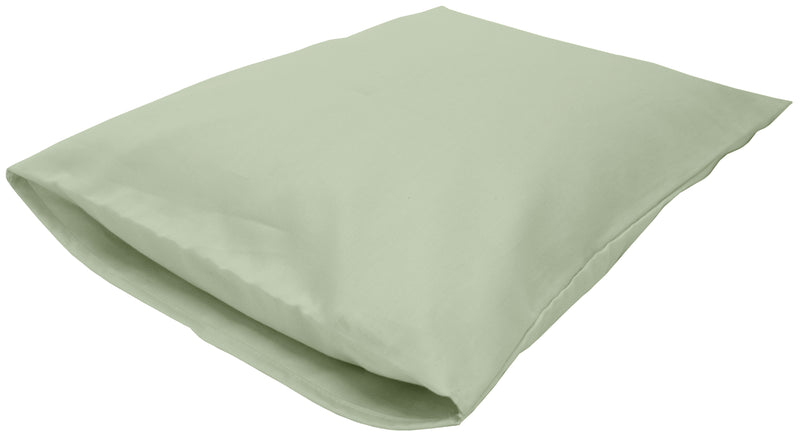 Cotton Sateen Pillow Cover Toddler/Travel Sage