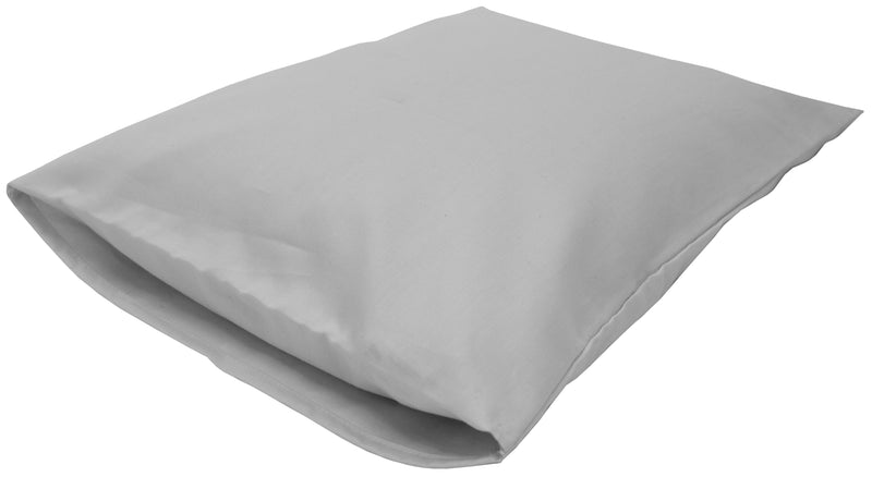 Cotton Sateen Pillow Cover Toddler/Travel Gray