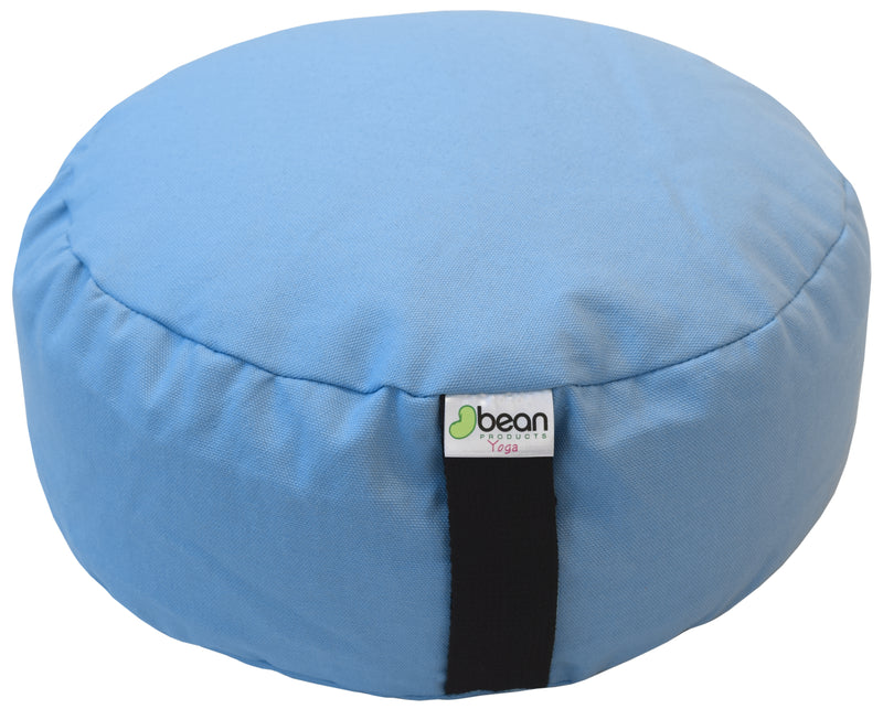 Zafu Meditation Cushion - Cotton and buckwheat hulls