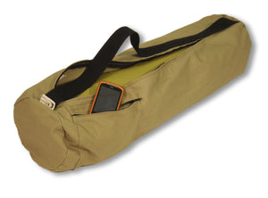 Cotton Yoga Mat Bag Large Hemp