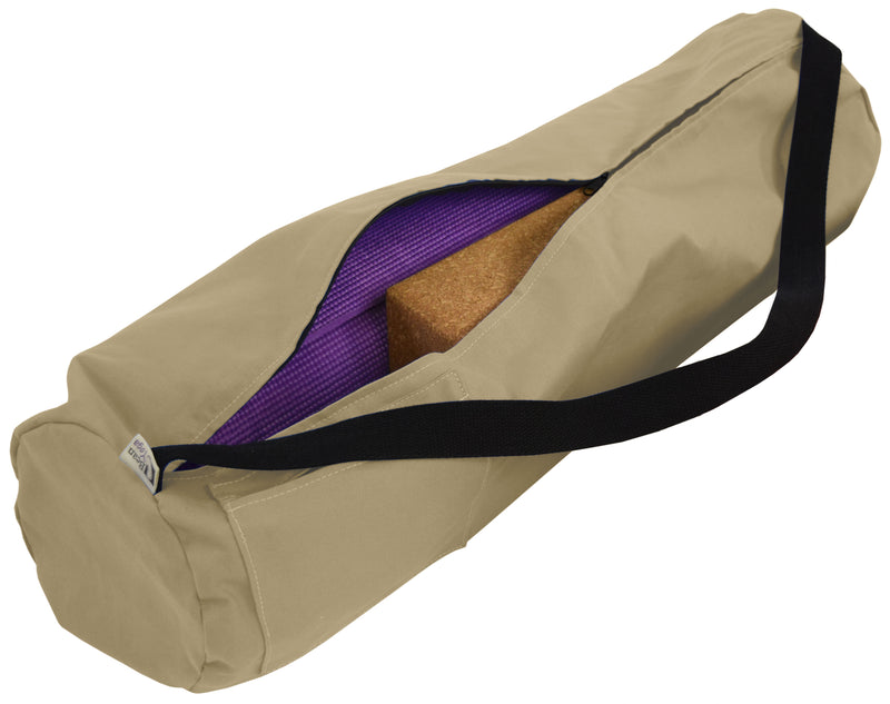 Cotton Yoga Mat Bag - CLEARANCE