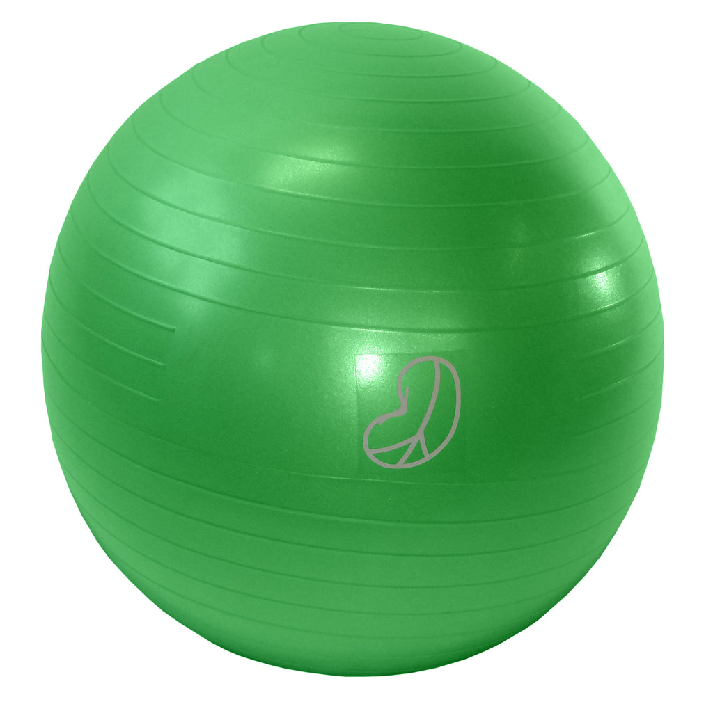 Burst Resistant Exercise Ball Green