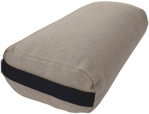 Hemp Yoga Bolster - Studio Quality