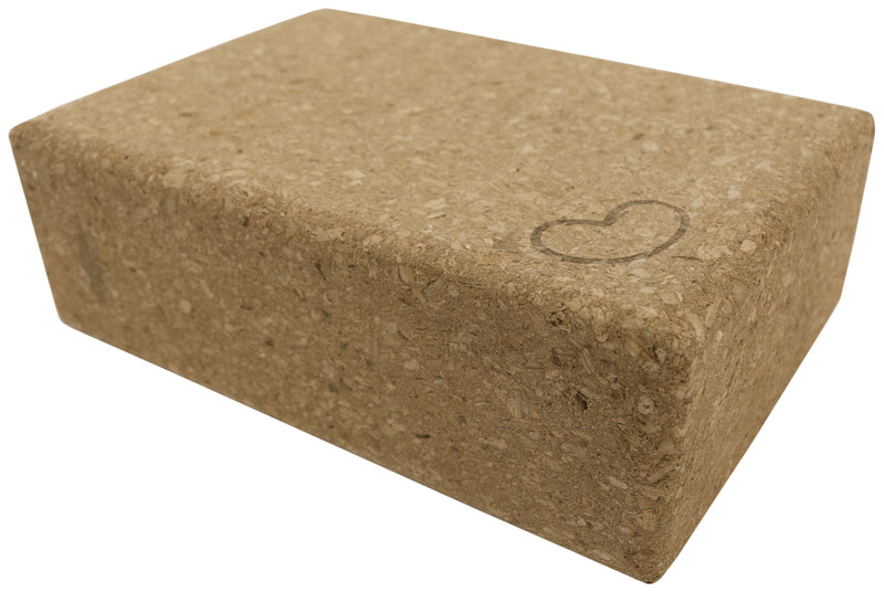 Cork Yoga Block 9 x 6 x 3
