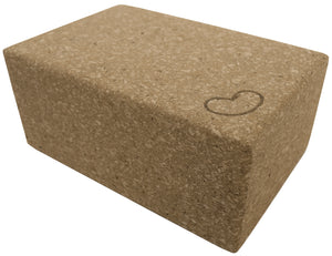 Cork Yoga Block 9 x 6 x 4