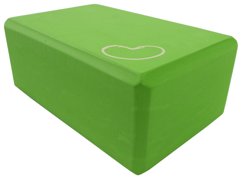 Foam yoga block green