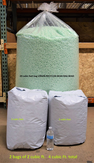 Bean Bag Chair Beads 4 cubic feet