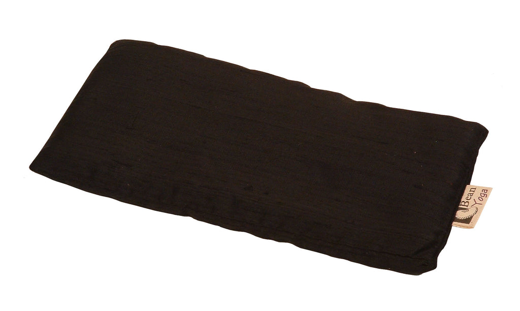 Black Silk Eye Pillow