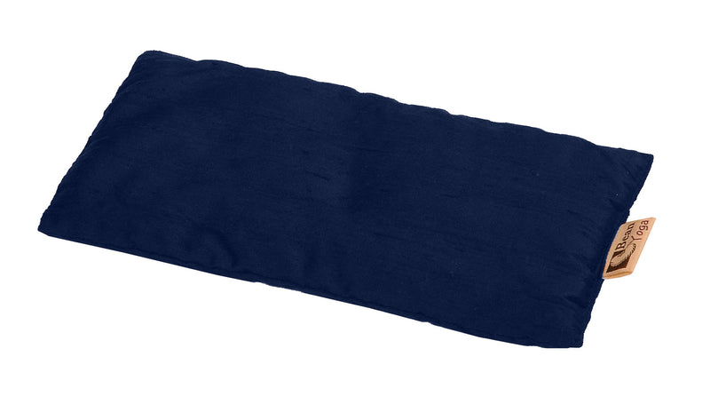 Navy Silk Eye Pillow