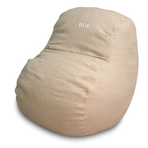 BigBean Adult Bean Bag Lounger - Hemp