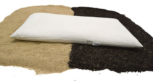 Buckwheat Hull Pillow / Millet Hull Pillow - Organic - WheatDreamz