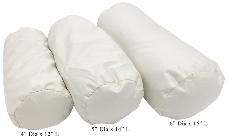Latex Head Pillows with Organic Cotton Zippered Shell