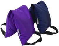 10 Pound Yoga Sandbag Purple and Blue