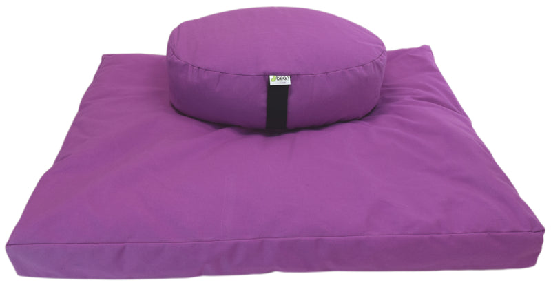 Zafu + Zabuton Meditation Cushion Set - Cotton