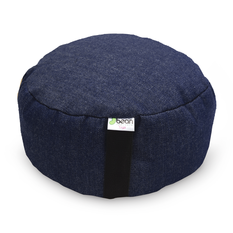 Zafu Meditation Cushion - Cotton & Buckwheat Hulls