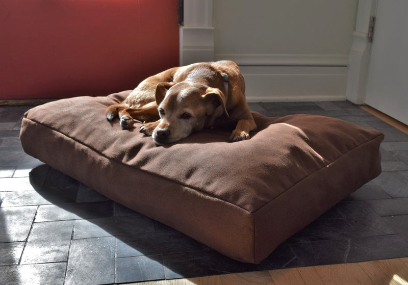 Premium Hemp Dog Bed - Latex