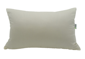 100% Fully Organic Throw Pillow - Euro Sizes - Kapok Filled - Vegan Luxury