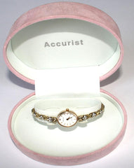 Accurist Gold ladies watch