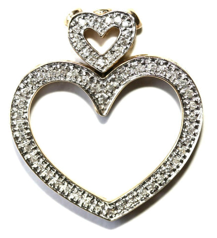 9ct .52ct Diamond Heart
