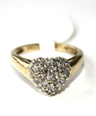 9ct Diamond Heart
